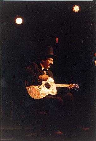 Trav S.D. Playing Guitar 1990s
