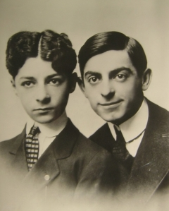 George Jessel and Eddie Cantor as Boys in Vaudeville