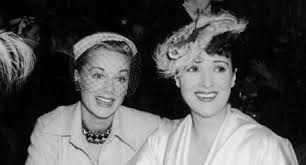 Gypsy Rose Lee and (Baby) June Havoc – (Travalanche)