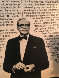 Jack Benny TV Guide