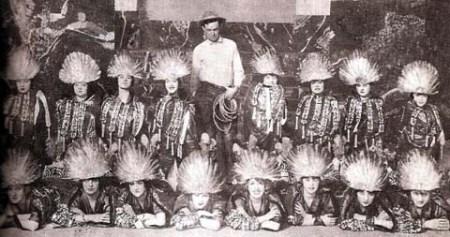 Will Rogers and the Ziegfeld Girls