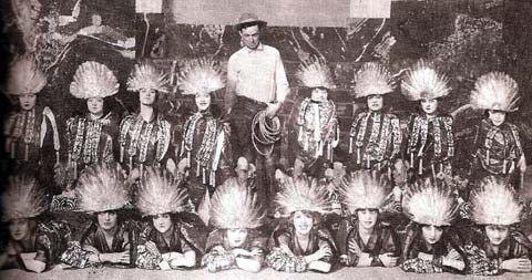Will Rogers and the Ziegfeld Girls