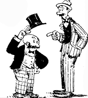 Mutt and Jeff comic characters