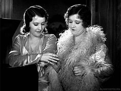 "with Stanwyck in ""Ladies of Leisure"" (1930)"