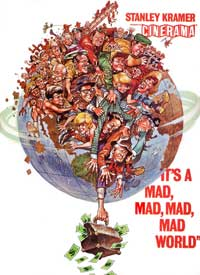 """Poster for """"It's a Mad Mad Mad Mad World"""""""