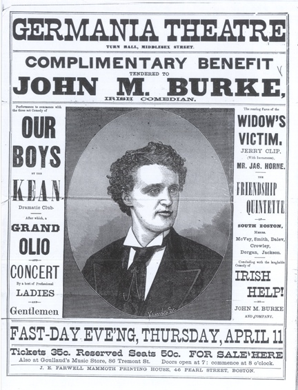 John M Burke poster 3c