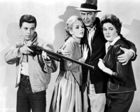 """Have no fear, Pop! I, Frankie Avalon, will shoot our enemies with the longest gun in the world!"""