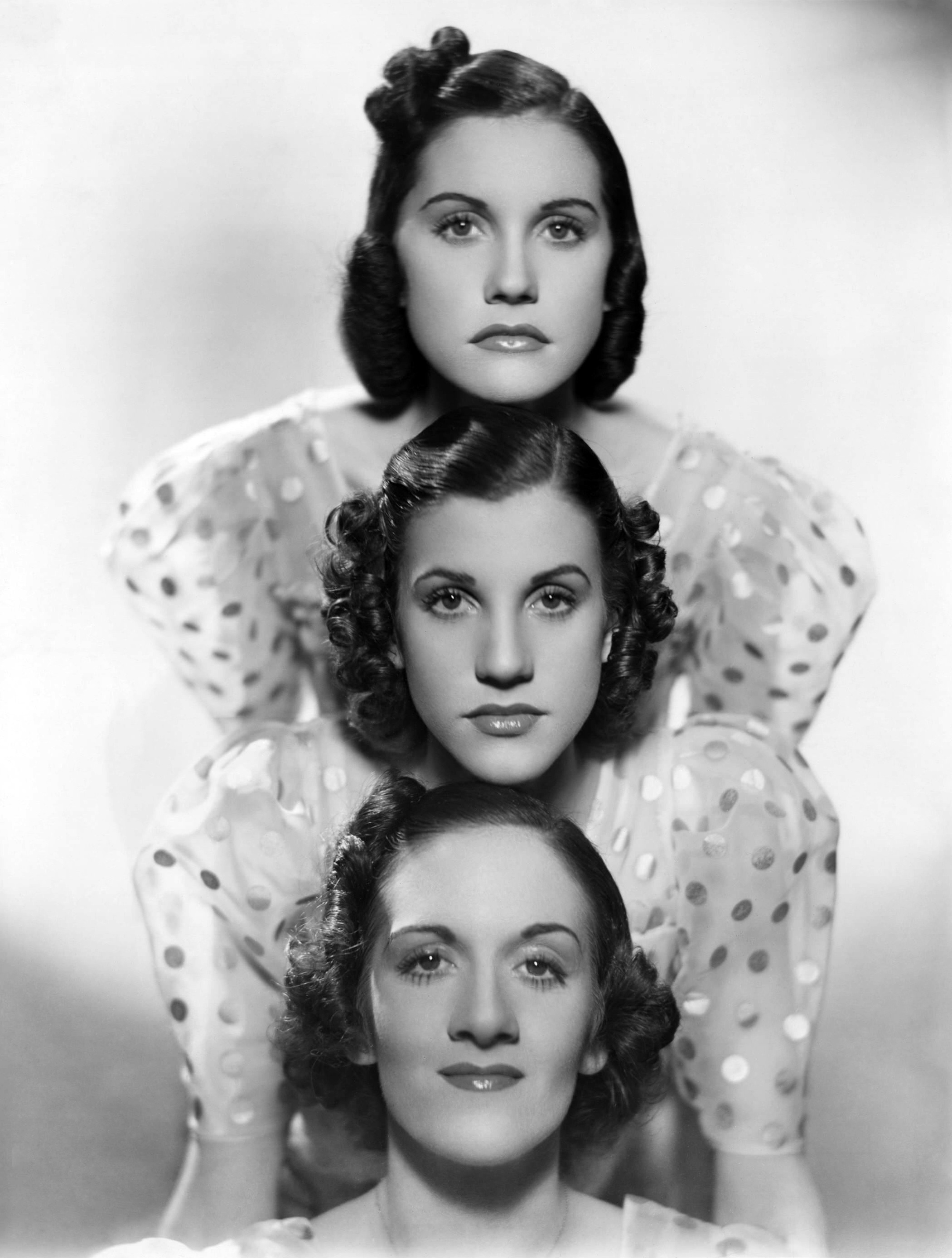 the early years of the andrews sisters travalanche