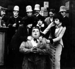 "From ""Fatty's Flirtation"" (1913). Jeske is one of these Kops!"