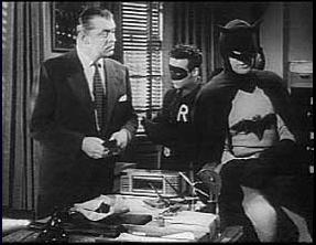 He's the first Commissioner Gordon!