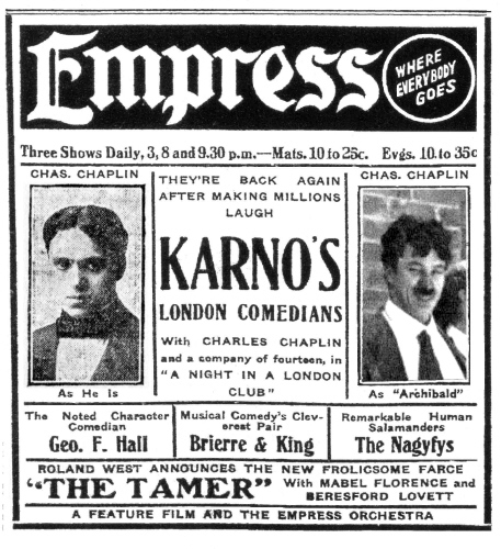 It Consisted Of A Vaudeville Show Within The Including Members Audience Who Would Be Played By Karno Regulars