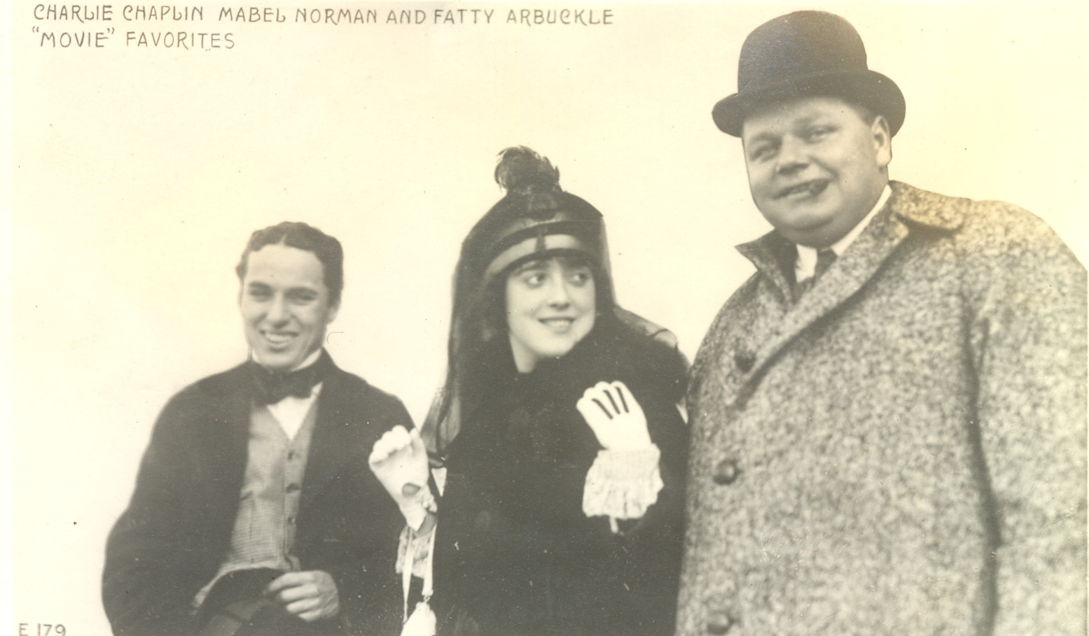 stars of vaudeville charlie chaplin travalanche charlie mabel roscoe0001