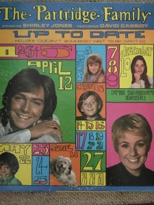 Partridge Family, Up to Date, record cover