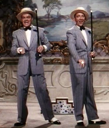 Bob Hope and Bing Crosby in the Road to Bali
