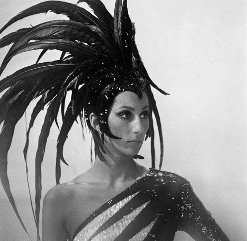 cher-feathers 1973