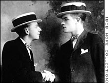 Bob Hope and vaudeville partner George Byrne