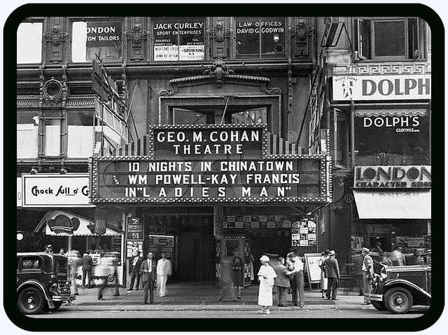 George M. Cohen Theater in New York City