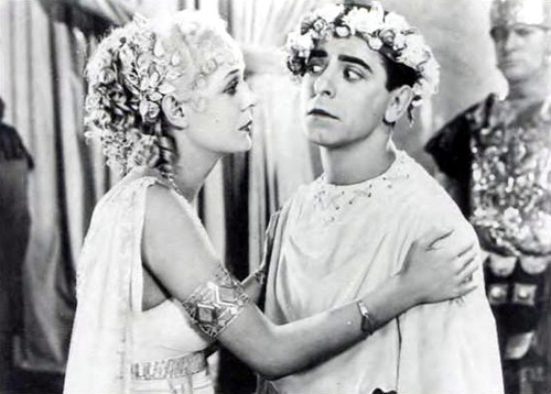 "Gloria Stuart with Eddie Cantor in ""Roman Scandals"""