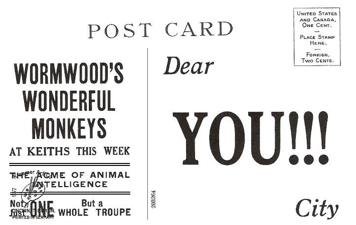 Wormwood Monkeys back