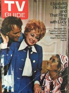 TV Guide, Lucille Ball, Richard Burton, Elizabeth Taylor, TV Guide