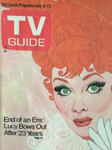 Lucille Ball, retirement, TV Guide, 1974