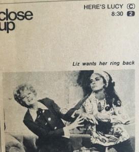 Lucille Ball, Elizabeth Taylor, TV Guide