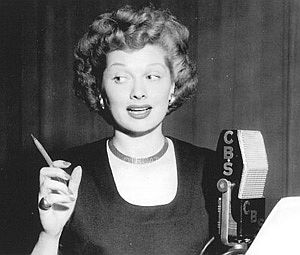 Lucille Ball, radio, 1950s