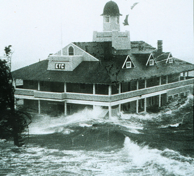 The Edgewood Yacht Club, where my wedding reception was held 55 years later. It has since burned down