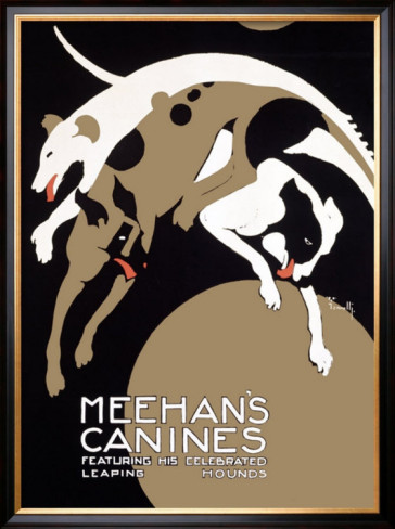 alfonso-iannelli-meehans-leaping-hound-dog-circus