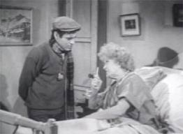 """Myrtle Vail in """"Little Shop"""" with Jonathan Haze"""