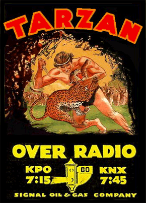 Tarzan-Over-Radio-ad