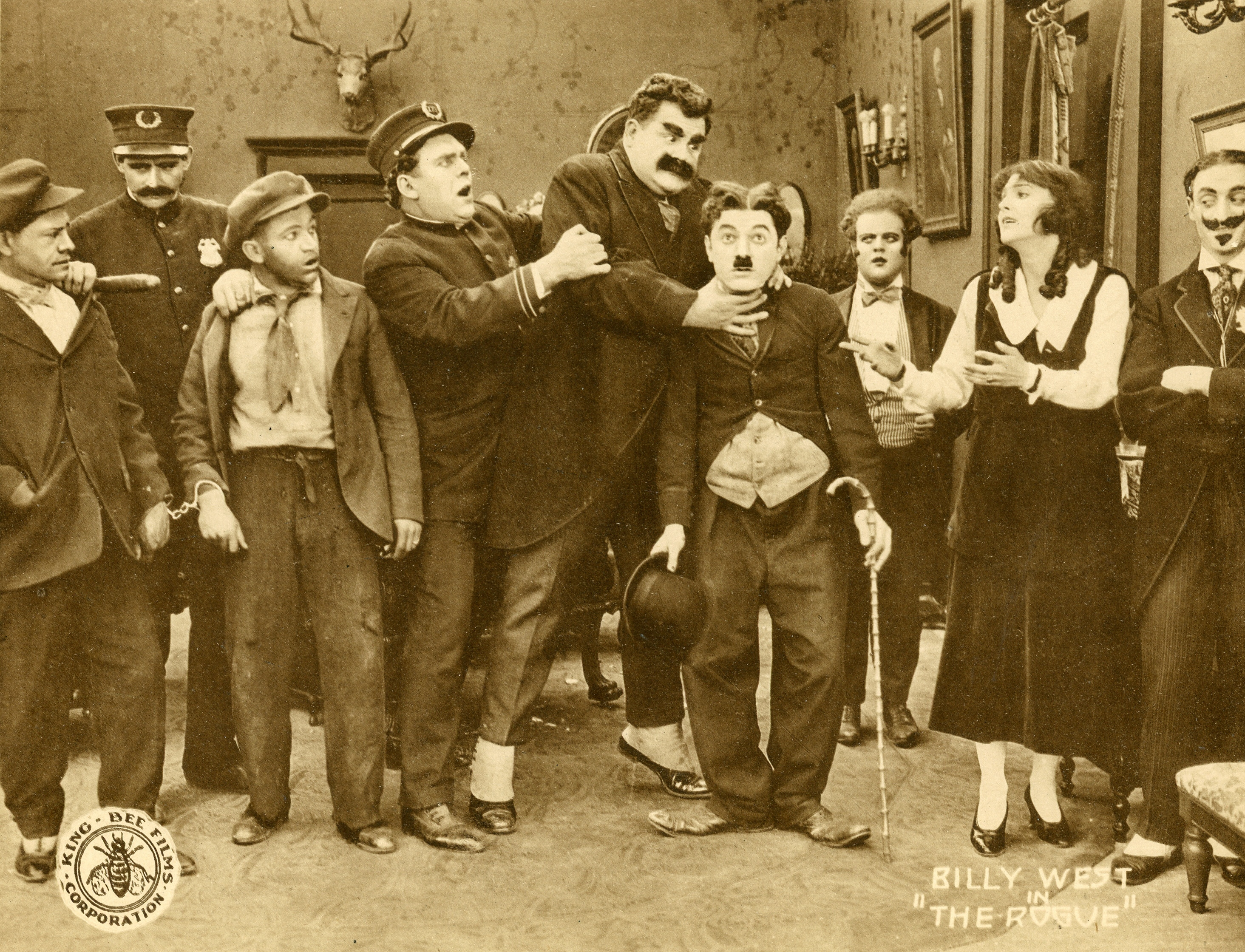 Billy West (silent Film Actor) silent film comedian Billy