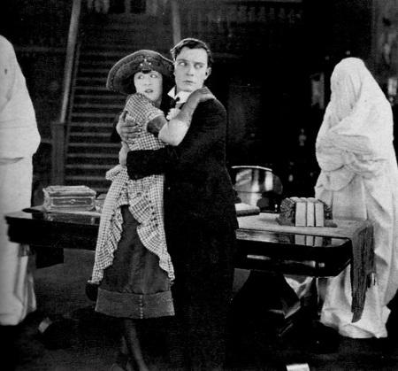 Buster Keaton Haunted House