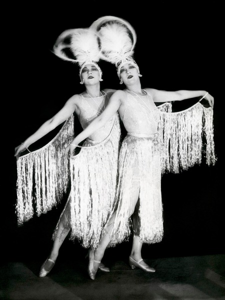 the dolly sisters 1927 - by james abbe