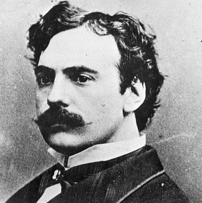 James O'Neill, circa 1896-Photo-B&W-Resized