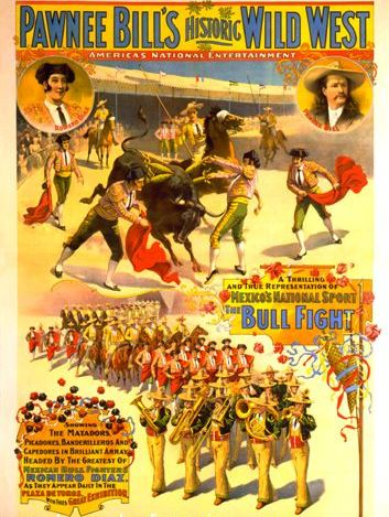Pawnee Bill Wild West Show, 1898, Strobridge Litho. Co-500