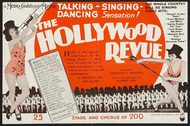 Image result for hollywood revue of 1929