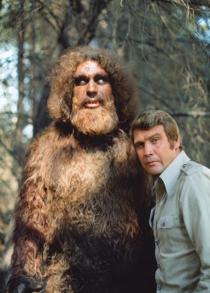 Bigfoot On The Six Million Dollar Man