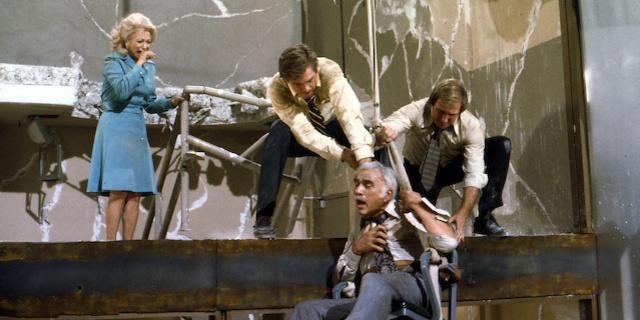 """Earthquake"" Lorne Greene 1974 Universal Pictures ** I.V."