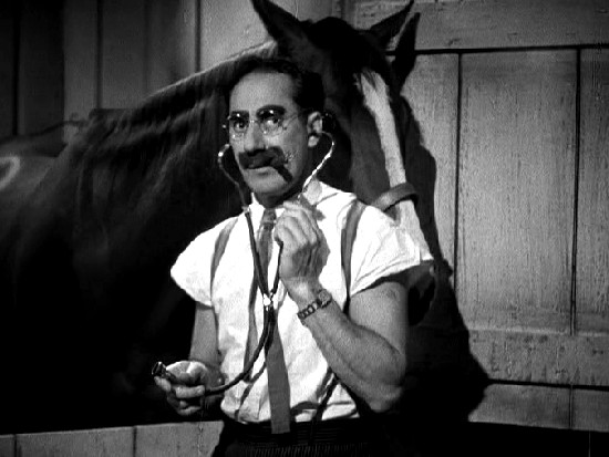 Image result for groucho as doctor hackenbush
