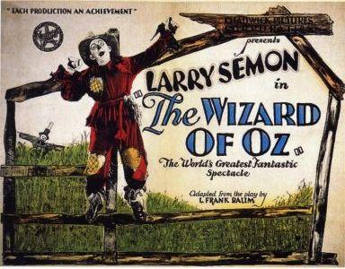 Tomasin en el Reino de Oz - El Mago de Oz - The Wizard of Oz - 1925 - Cartel007