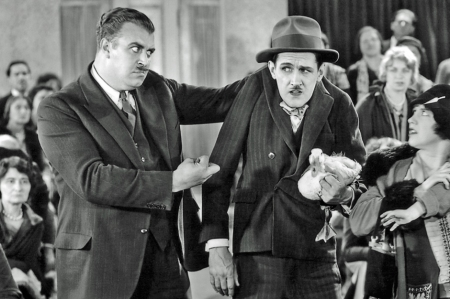 Charley-Chase-R-with-Tiny-Sandford-in-Movie-Night2