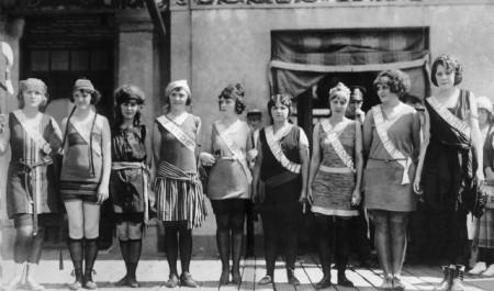 1921 Miss America Contestants