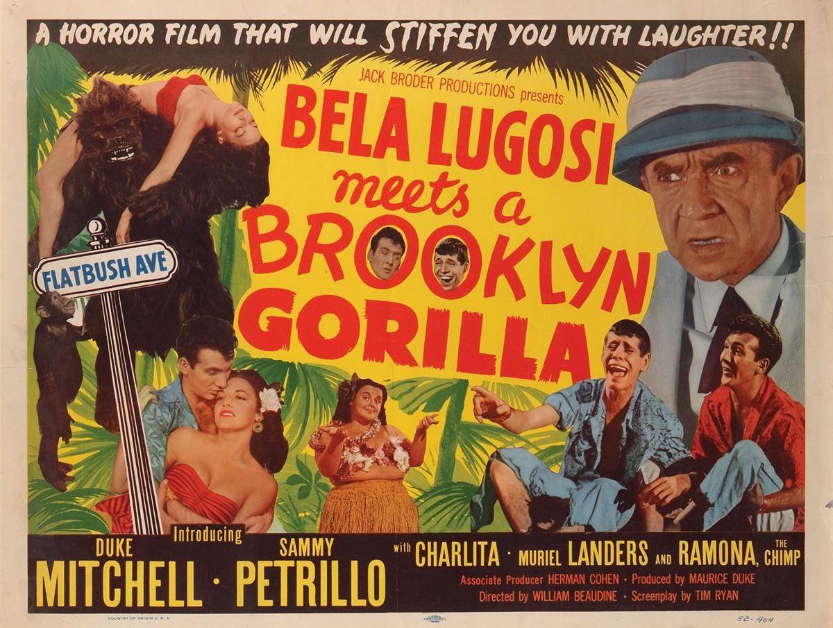 imdb bela lugosi meets a brooklyn gorilla