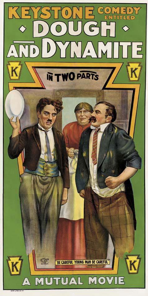 Dough_and_Dynamite_1914_Poster_de_la_película