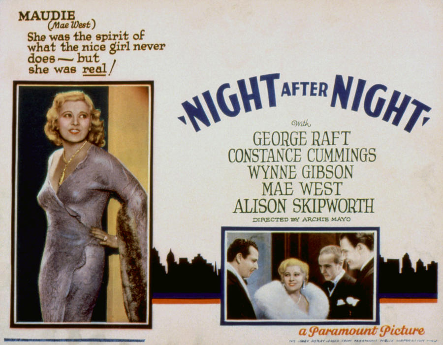 mae west movie night after night