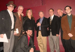 The Marxfest committee hangs with Dick Cavett!