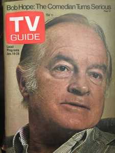 Older Bob Hope TV Guide 1970s
