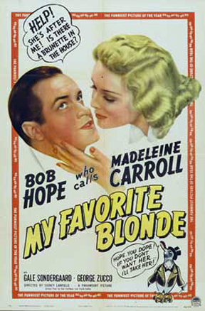My_Favorite_Blonde_1942_Poster
