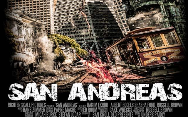 San Andreas Graben Film